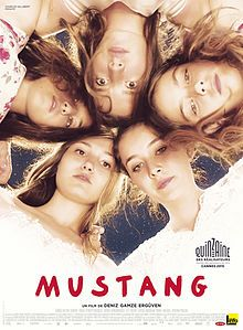 Mustang. France, Turkey, Germany. Gunes Sensoy, Doga Doguslu, Elit Iscan. Directed by Deniz Gamze Erguven. 2015