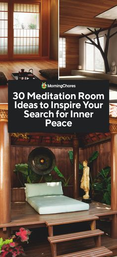 Space Mystery 30 Meditation Room Ideas to Inspire Your Search for Inner Peace - Our selection of meditation room ideas has the inspiration you need to create the right ambiance for your quiet time of meditation, and space to relax. Meditation Room Decor, Relaxation Room, Meditation Space, Yoga Meditation, Relaxing Room, Vipassana Meditation, Meditation Corner, Meditation Garden, Meditation Retreat