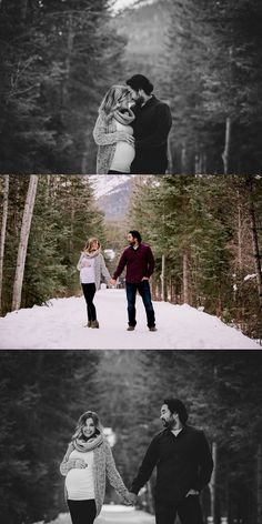 Seiji & Megan's Mountain Maternity Session by Calgary Maternity Photographers Red Bloom Photography with Artistry by Bobi Maternity Poses, Maternity Portraits, Maternity Photographer, Winter Maternity Photography, Maternity Styles, Maternity Jeans, Winter Photography, Wedding Photography, Winter Maternity Pictures