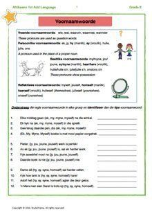 Afrikaans Language, Exam Papers, Grade 3, Kids Learning, Worksheets, How To Apply, Teacher, Ads, Education