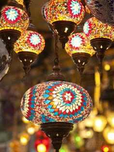 turkish lamps? no, Indian lamps. Second-hand or we could make them.