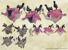 Final Fantasy XIV v2.0 artwork ✤ || CHARACTER DESIGN REFERENCES | キャラクターデザイン •