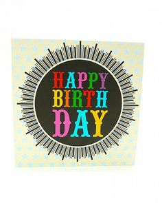 Birthday Greeting Card by Claire Giles £6.00