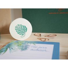 Trombone, Paradis Tropical, Place Cards, Place Card Holders, Exotic Flowers, Casket, Sticker, Paper Mill, Objects
