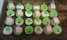 Buzz Lightyear cupcakes