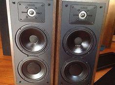 Vintage Polk Audio monitor series 5 Jr speaker in Consumer Electronics,Vintage Electronics,Vintage Audio & Video | eBay