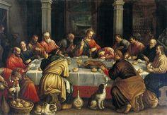 L'Ultima cena, Leandro Bassano, fine XVI sec.
