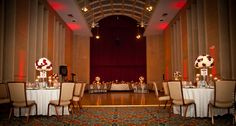 #Red & #Gold #Fall #Wedding at Bolger Center