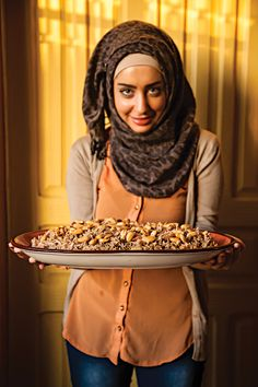 Middle Eastern-Spiced Rice with Toasted Almonds