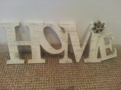 15cm home letters £12