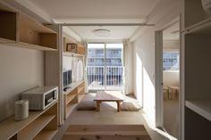 Shigeru Ban Container Temporary Housing Onagawa, Miyagi, Japan