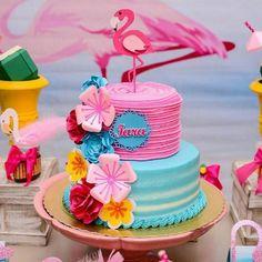 Créditos: @nicoledoceriagourmet @katejoenne Ideias Criativas para Festa Flamingo