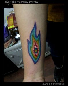 Alex grey tool tattoo by Jas  #alexgrey #tool #tattoo