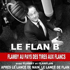 Le flan B ou le lancer de Flan by