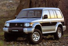 1996 Mitsubishi Pajero (Type 73 Kogata derived from this)
