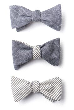 One can never have enough Bow Ties (by Cotton Treats)