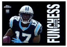 2015 Topps Chrome Devin Funchess 60th Anniversary Rookie Card Carolina Panthers