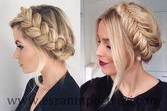 6 uzun saçlar için örgülü saç modelleri_mini