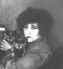 French novelist Sidonie-Gabrielle Claudine Colette (1873 -1954): 'Time spent with a cat is never wasted'