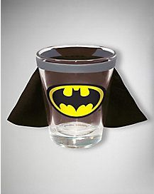 2 oz. Batman Logo Caped Shot Glass | I need it