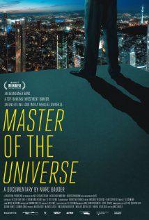 Der Banker: Master of the Universe (2013) Director: Marc Bauder. EUROPEAN DOCUMENTARY 2014