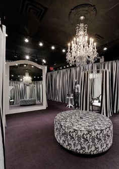 This is a dressing room at White House Black Market, but I love everything about it!!!