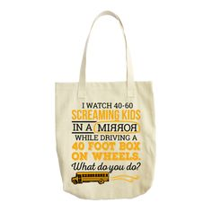 """12.0 oz., 100% cotton canvas Reinforced bottom 22"""" handles Size: 15"""" x 19½"""" x 5"""" Ideal for carrying groceries or beach items, this cotton canvas tote has a roomy square bottom."""