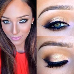 Wow. Going to have to try this look.