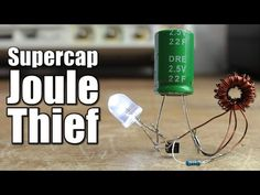 In this project I will show you how I created a very popular and easy to build circuit, the joule thief, in order to power LEDs with voltages from 0.5V to 2.5V. This...