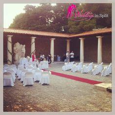 wedding ceremony in KAstelet, Wedding IN Croatia