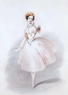 Marie Taglioni - la sylphide