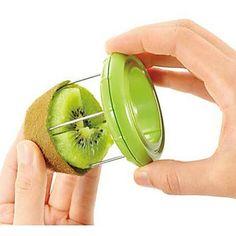 Novelty Kiwi Fruit Slicer Skinner Stripper Kiwi Fruit Divider Color Randomly – GBP £ 2.79