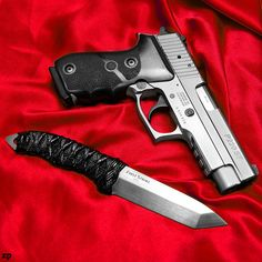 SIG 220/.45ACP & First Strike Fixed Blade by ZORIN DENU