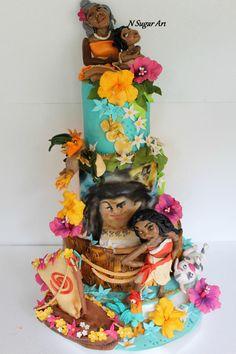 Moana  - Cake by N SUGAR ART