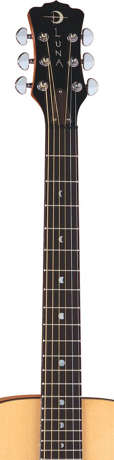 Luna Guitars - Signature moon phase fret markers