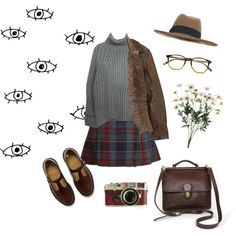 in the backseat by sbolger on Polyvore featuring Dr. Martens, Miss Selfridge, Timberland, Garrett Leight and Leica