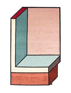 Visioni  des tapis géométriques qui donnent lillusion de 3D  2Tout2Rien