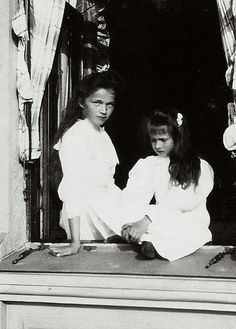 Olga and Anastasia, oldest and youngest.