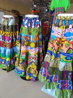 BEAUTIFUL PATCHWORK SKIRT Made/Authentic by AnkaraStyles2014