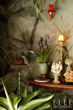 This Overberg farmhouse was featured in Elle Deco 2011 Spring Issue Elle Decoration South Africa- photography by Inge Prins. Tropical look. Tropical Home Decor, Tropical Interior, Tropical Design, Tropical Style, Tropical Houses, Tropical Furniture, West Indies Style, British West Indies, Estilo Tropical