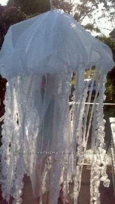 Coolest Breathing Jellyfish Costume... This website is the Pinterest of costumes