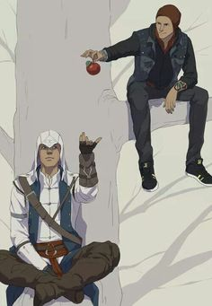 [AC/IF] Connor and Delsin