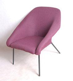 fotel klubowy Ewa lata '60 renowacja polski design w Good Old Things na DaWanda.com