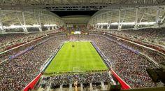 El  University of Phoenix Stadium (Estadio de  la Universidad de Phoenix) será el escenario del choque entre Perú y Ecuador por la Copa América Centenario, programado para este miércoles 8 de junio a las 9:00 p.m. (hora peruana).