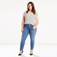 designed to smooth and enhance, levi's® shaping jeans slim your tummy, lift your seat, and lengthen your legs. The 311 shaping skinny is super comfortable. Jeans Slim, Jeans Skinny, Skinny Legs, Jean Vintage, Vintage Jeans, Levis, Estilo Denim, Mode Jeans, French Girls