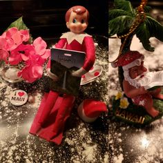 Dreaming about the beach #mauihawaii  #CherryTheElf #ElfOnTheShelf #TeenElf
