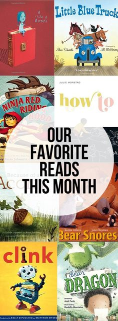 Our favorite reads from September 2016 - picture books, chapter books, read alouds and even the books mom read!