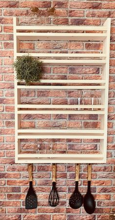 Spice Rack 5 XL, made of recycled old wood, upcycling Build A Spice Rack, Diy Spice Rack, Kitchen Spice Racks, Wood Spice Rack, Woodworking Furniture, Wood Furniture, Essential Oil Rack, Balcony Grill Design, Cozy Kitchen