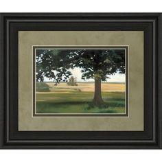 ClassyArtWholesalers Hidden Pasture by Megan Lightell and Mossy Oak Nativ Living Framed Painting Print