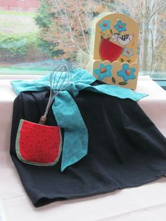 Apron and Recipe Box » Notions - The Connecting Threads Quilt Blog